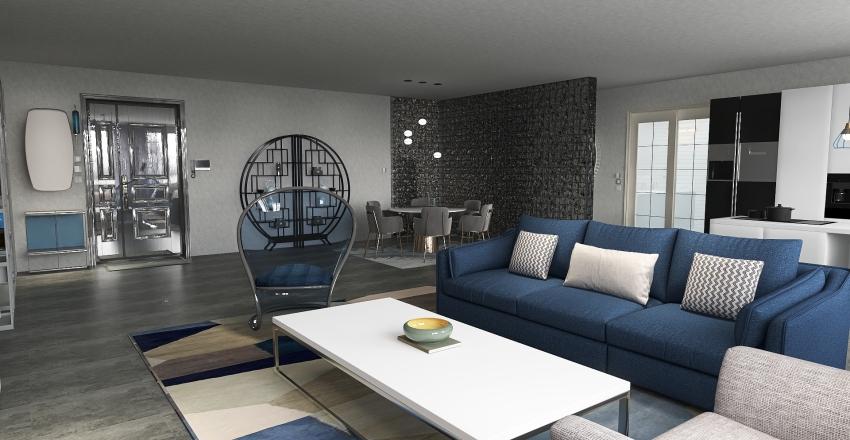 House no6 Interior Design Render