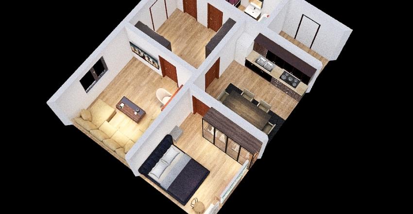 Дом 4 Interior Design Render