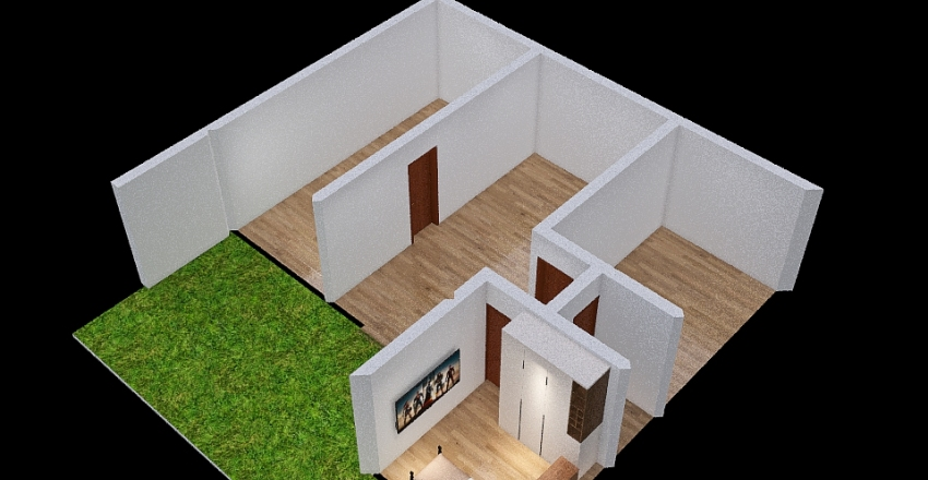 casa rio  escuro  123 Interior Design Render