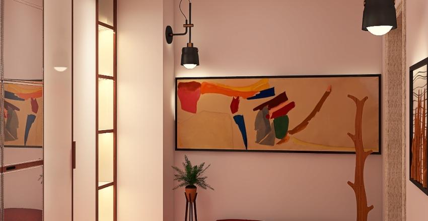 Bright Scandinavia Interior Design Render