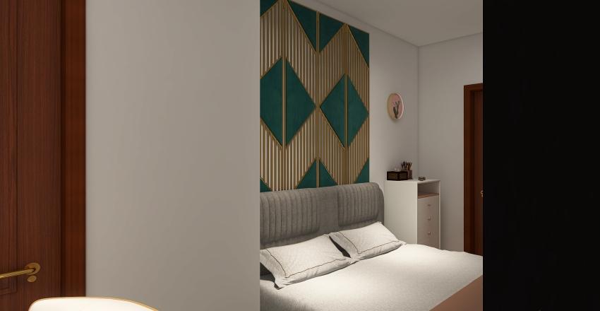 1 Bed/1 Bath Interior Design Render