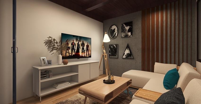 Roof Interior Design Render