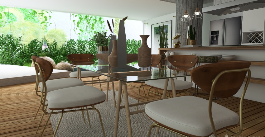 The Open Interior Design Render
