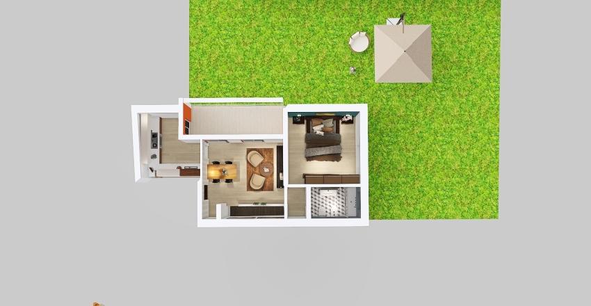beccari 105 Interior Design Render