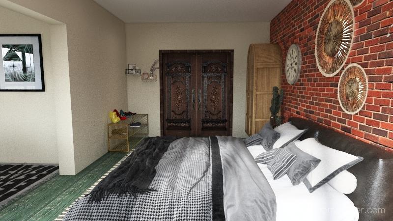 Textures Interior Design Render