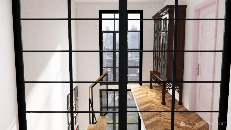 Dwie Motlawy 7 drewno Interior Design Render