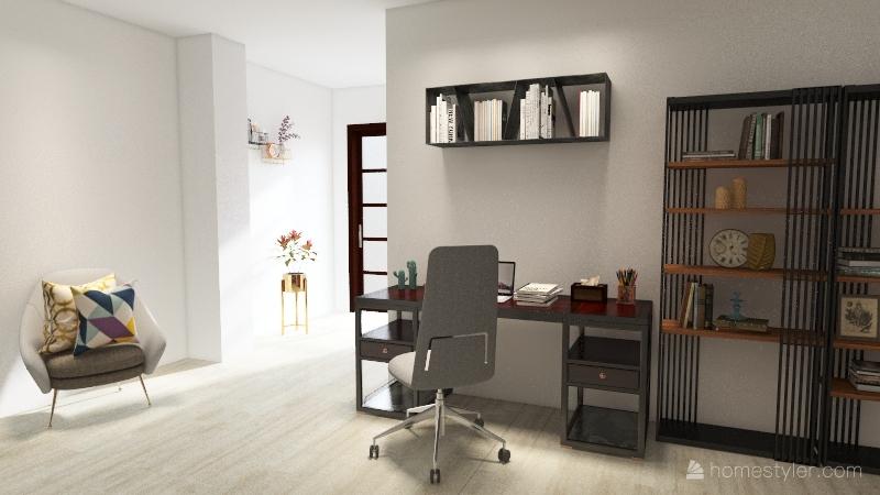 Vivienda Común Interior Design Render