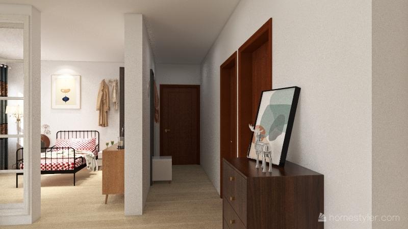ApartaEstudio en Torre Interior Design Render