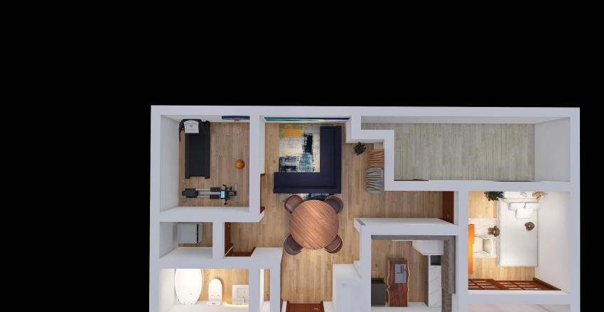 Suite 501 Interior Design Render