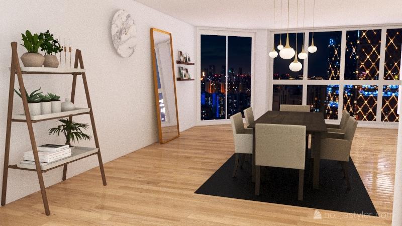 Sunday House Interior Design Render