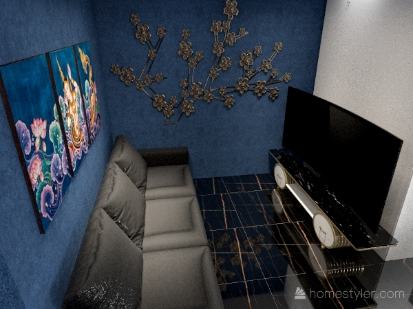 проек интерьера Interior Design Render