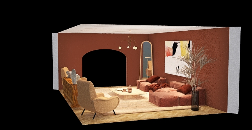 Sabrina Interior Design Render