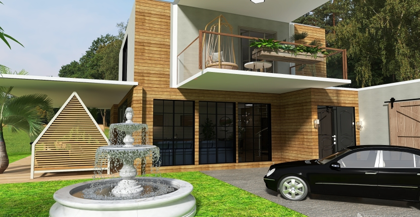 willa Interior Design Render