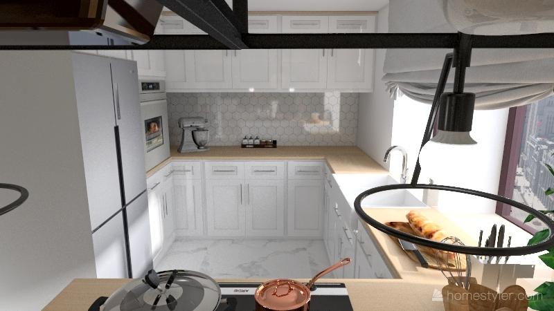 domeczek Interior Design Render