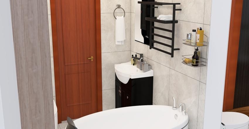 планировка 3х комнатной квартиры Interior Design Render