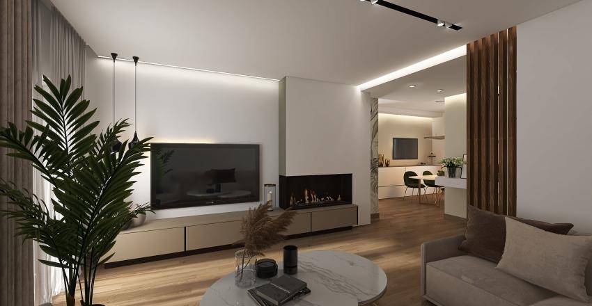 ARIANNA E MATTIA Interior Design Render