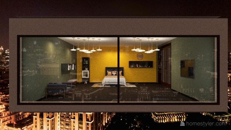 Ideal room Interior Design Render