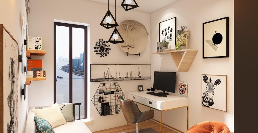 Isidora G Karlo stan Interior Design Render