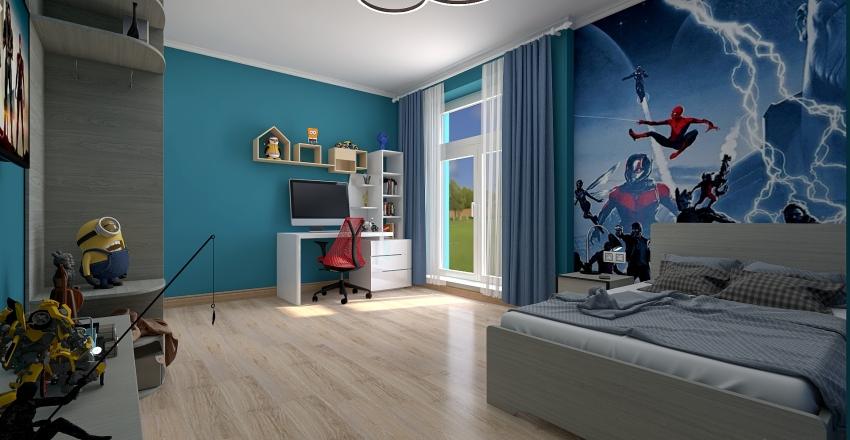 Загородный дом , Агалатово Interior Design Render