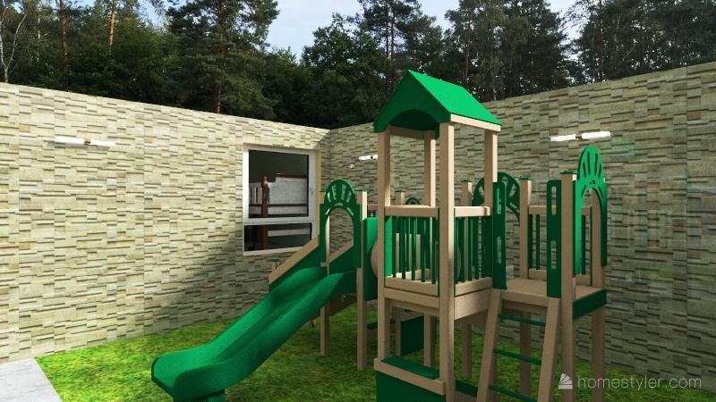 casa para 4 personas  Interior Design Render