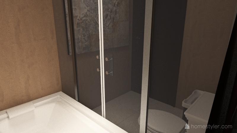 Studio Unit Interior Design Render
