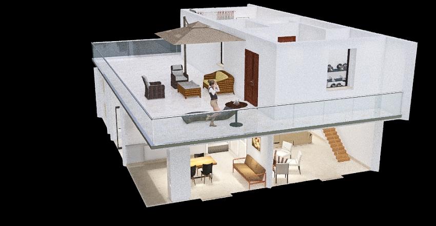 Soluzione 2 Casa di Daniele Interior Design Render