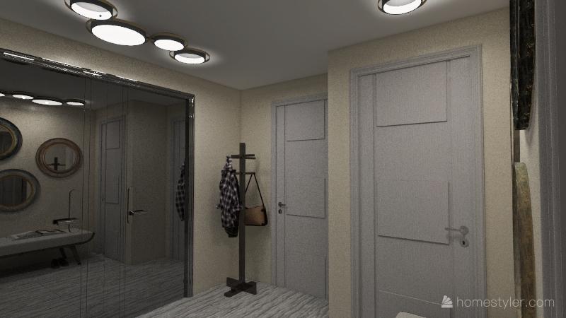 Self build 84msq Interior Design Render