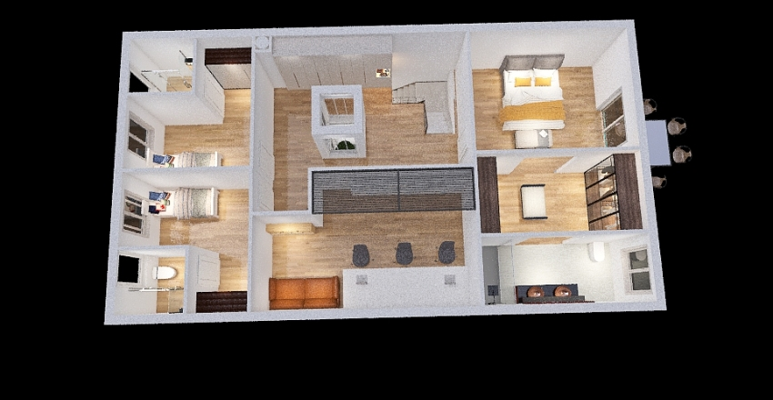 Futura Casa Interior Design Render