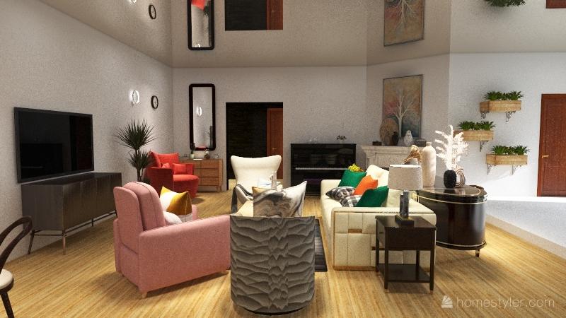 Apartamento de como conocí a tu madre Interior Design Render