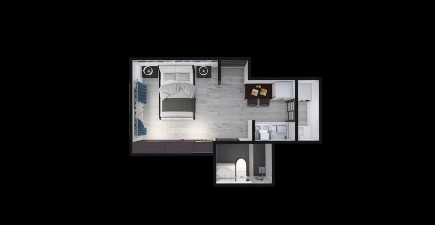 Apartaestudio2 Interior Design Render