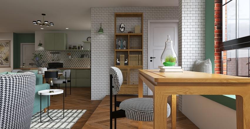 ''Friends'' apartment renovation Interior Design Render