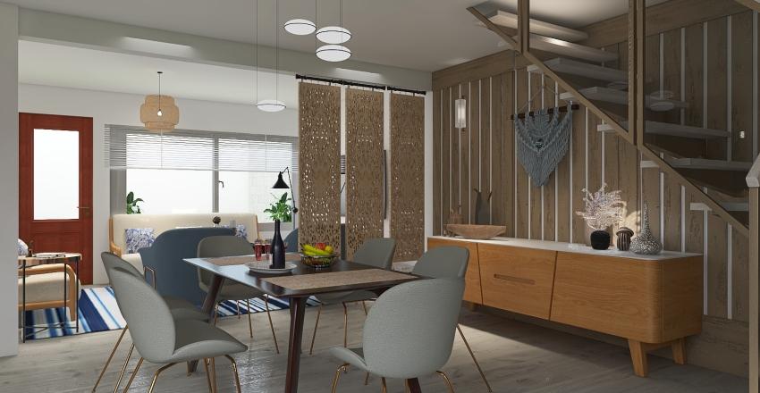 MATERIALES TEXTILES Y NO CONVENCIONALES Interior Design Render