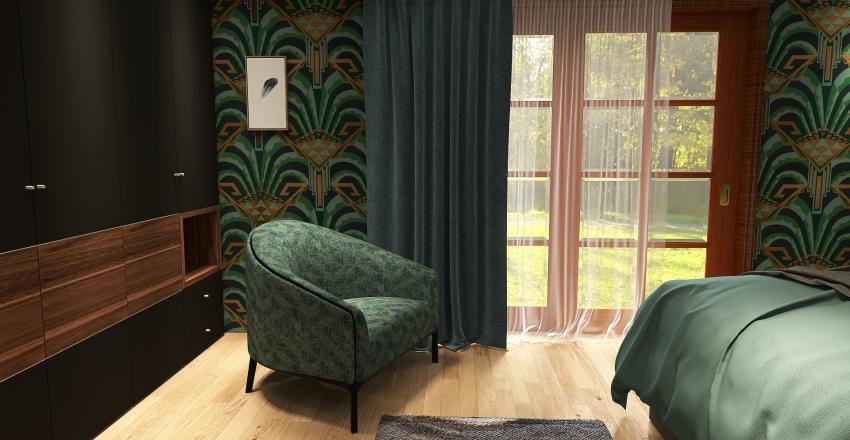maison française Interior Design Render