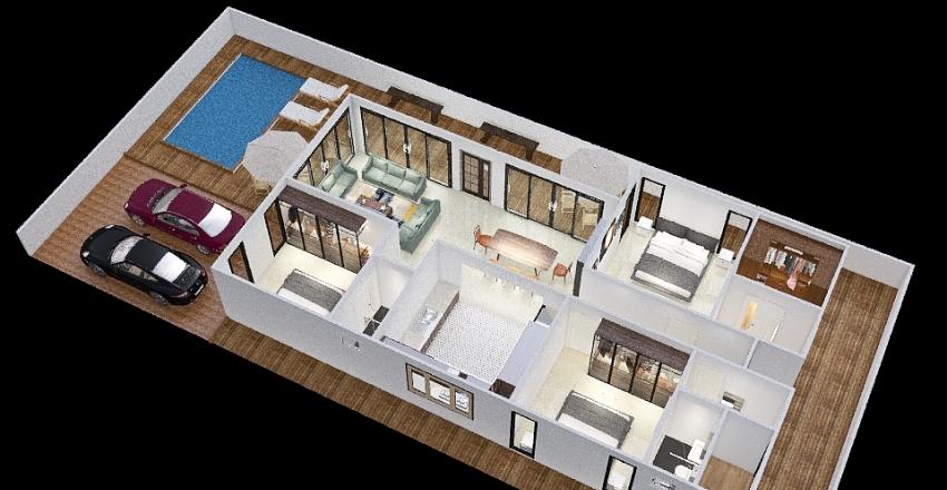 P&A House Interior Design Render