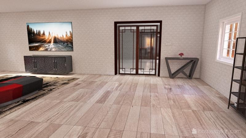 Tenesha's Dream Home Interior Design Render