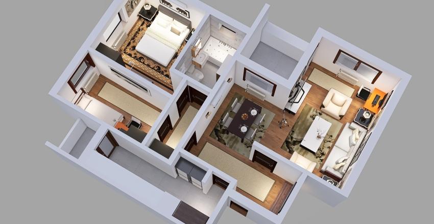 Niš, Medijana Interior Design Render