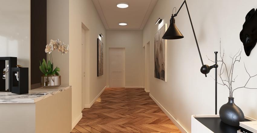 Large Consept House Interior Design Render