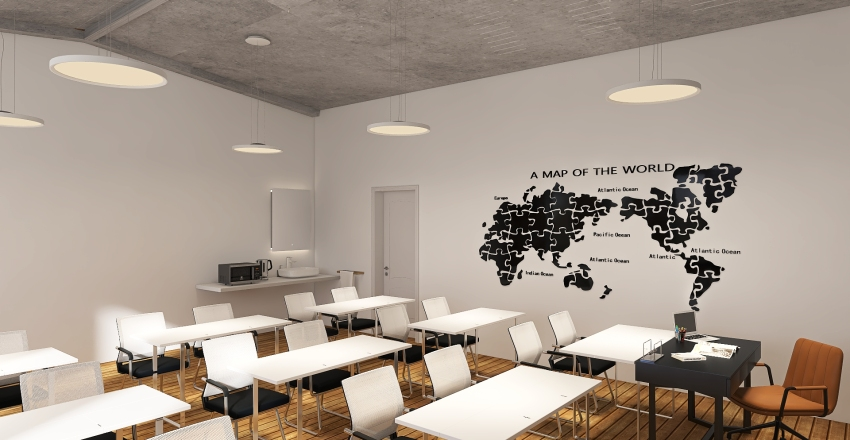 trieda Interior Design Render
