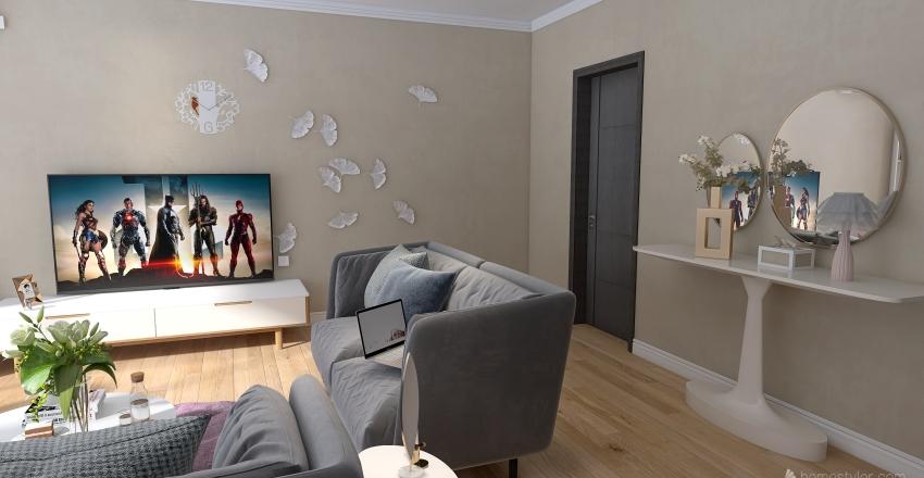 New living room  Interior Design Render