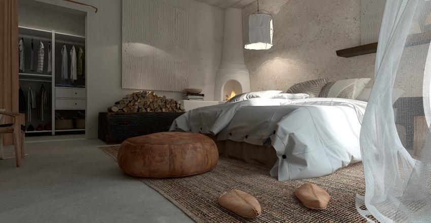 Vieja casa de campo reformada Interior Design Render