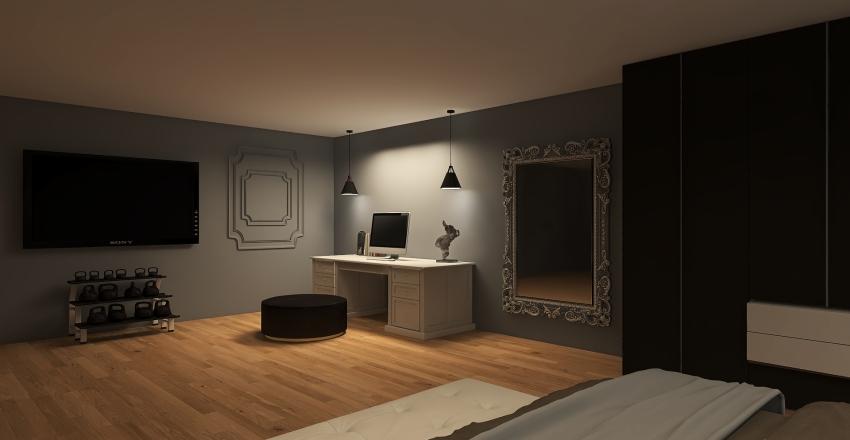 Modern Royal Interior Design Render
