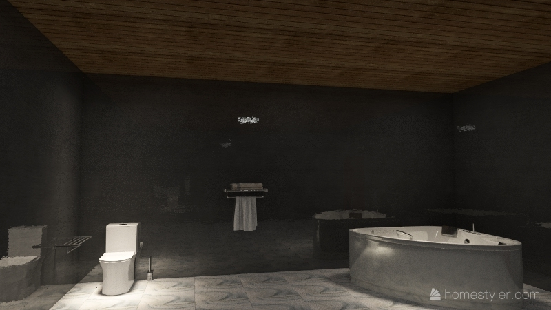 Dream House Interior Design Render