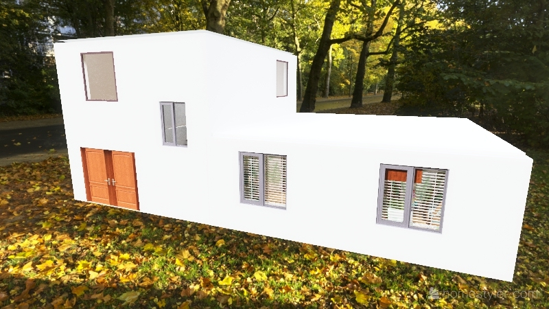 Дом 2 этажа 7,5 Interior Design Render