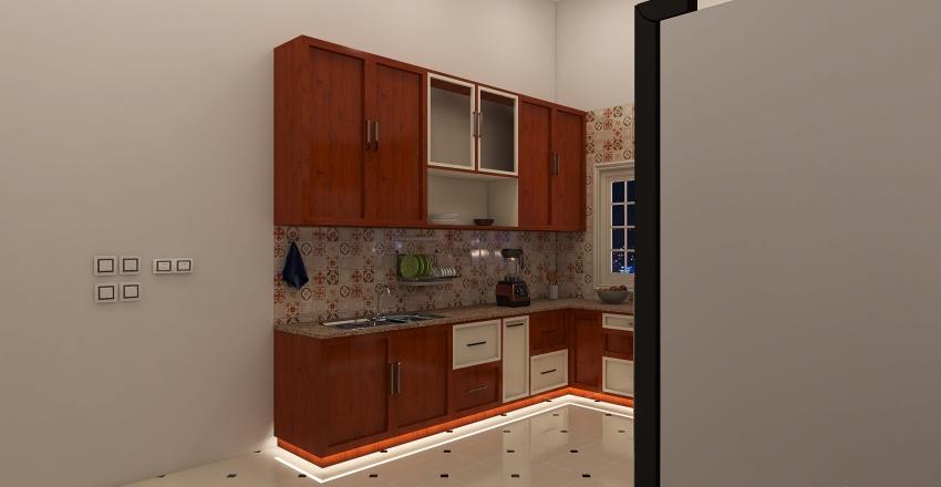 TRADITIONAL KITCHEN Interior Design Render