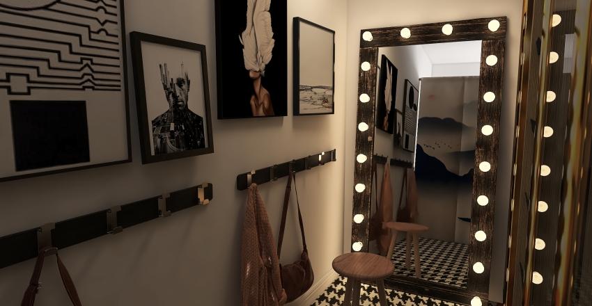 grown up room Interior Design Render