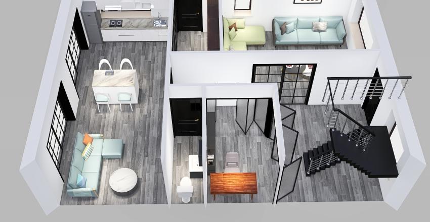 UmayrIqbal- Ground Floor_blank Interior Design Render