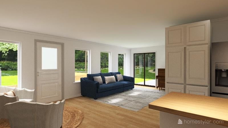 Wake Forest 2.0 Interior Design Render