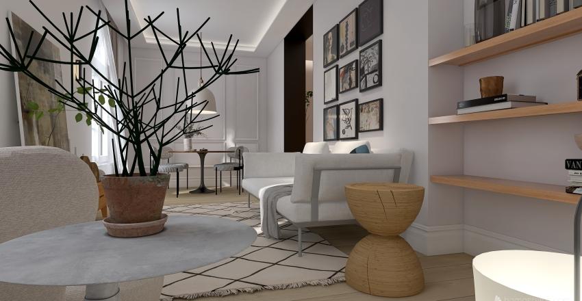 The Classic Madrid Interior Design Render