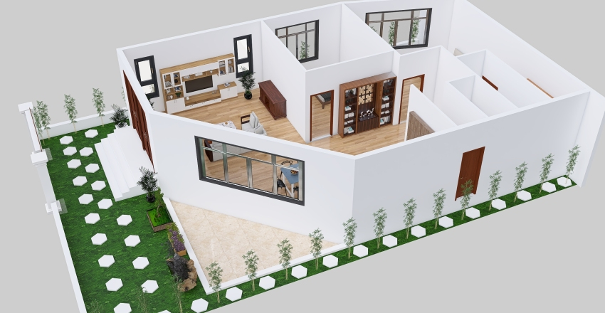 A LONG-CAM RANH-REV05 Interior Design Render
