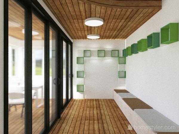 EX ALLOGIO CUSTODE Interior Design Render